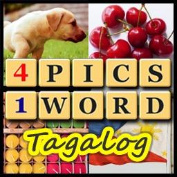 4 pics, 1 word tagalog